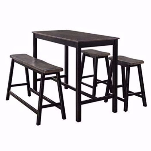Sheetz 3 Piece Counter Height Dining Sets Intended For Favorite Dining Sets (Gallery 16 of 20)