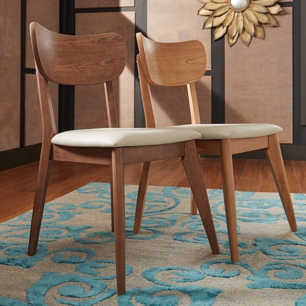 Shop Penelope Danish Modern Tapered Leg Dining Chair (Set Of 2 With Regard To Well Known Penelope 3 Piece Counter Height Wood Dining Sets (View 16 of 20)