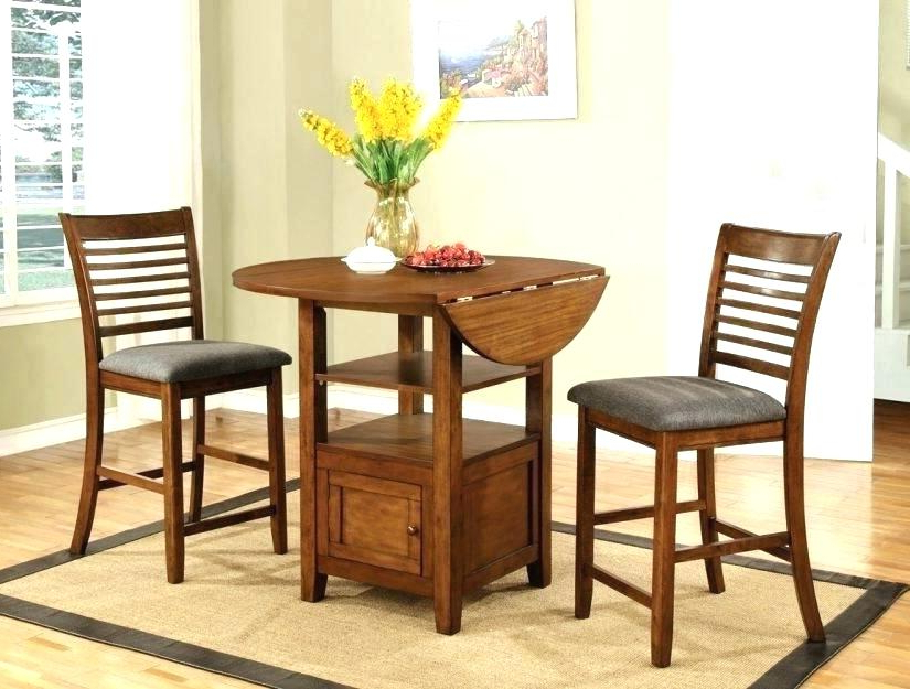 Small 3 Piece Dining Set – Aligner Regarding Most Recently Released Debby Small Space 3 Piece Dining Sets (View 19 of 20)