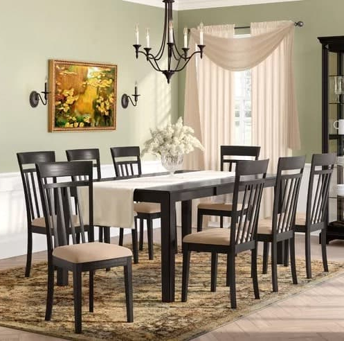 Smyrna 3 Piece Dining Sets For Well Liked 10 Dining Room Sets Under $1,000 That Seats 6, 8, 10 Or 12 People (View 11 of 20)