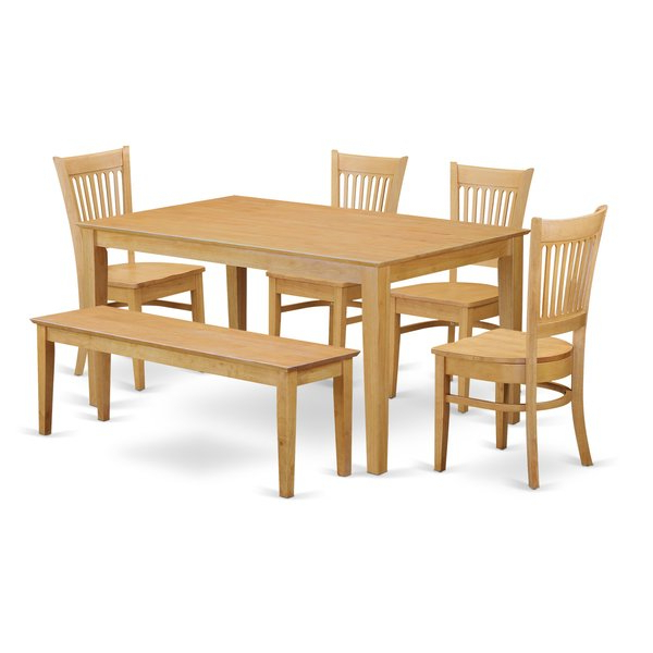 Smyrna 3 Piece Dining Sets Within 2019 Smyrna 6 Piece Dining Setcharlton Home #1 On (Gallery 5 of 20)