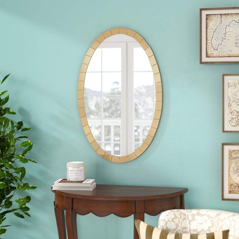 Tejeda 5 Piece Dining Sets Inside Preferred Tejeda Wall Mirror (View 18 of 20)