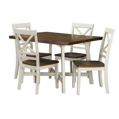 Telauges 5 Piece Dining Sets Intended For 2017 Pinterest (View 9 of 20)
