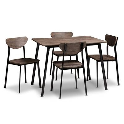 Telauges 5 Piece Dining Sets With Regard To Widely Used Telauges 5 Piece Dining Set & Reviews (View 7 of 20)