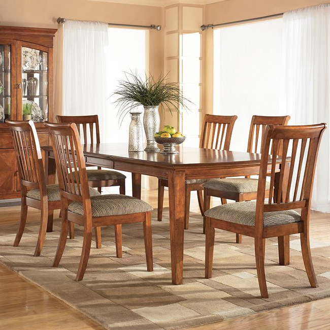 Trendy Conover Rectangular Dining Room Set Signature Designashley In Conover 5 Piece Dining Sets (View 16 of 20)