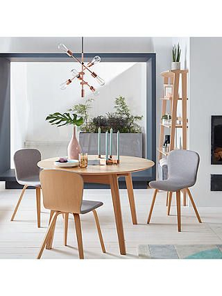 Trendy John 4 Piece Dining Sets Regarding John Lewis & Partners Duhrer 4 6 Seater Extending Round Dining Table (View 12 of 20)