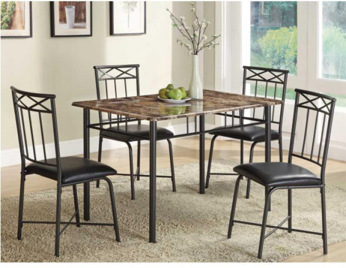 Union City, Ga 5 Piece Dining Set W Pertaining To 2018 Cargo 5 Piece Dining Sets (View 11 of 20)