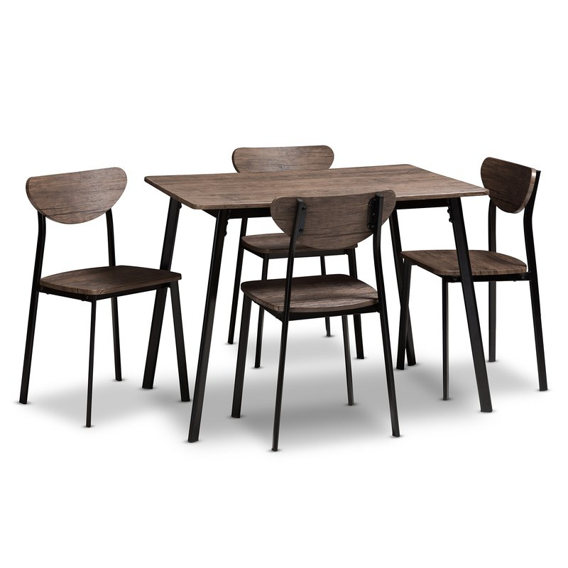 Featured Photo of Tejeda 5 Piece Dining Sets