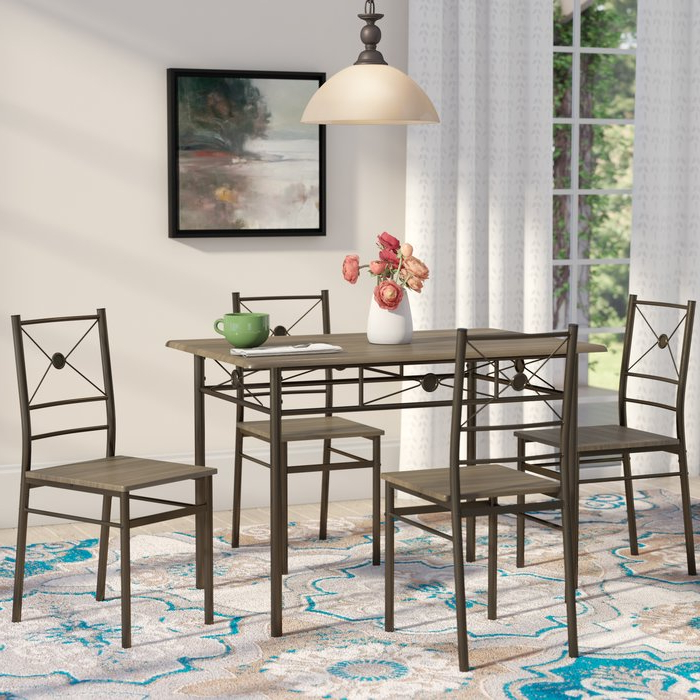 Wayfair.ca In Taulbee 5 Piece Dining Sets (Gallery 16 of 20)