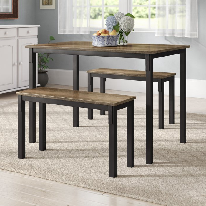 Wayfair.ca Intended For Rossiter 3 Piece Dining Sets (Gallery 2 of 20)