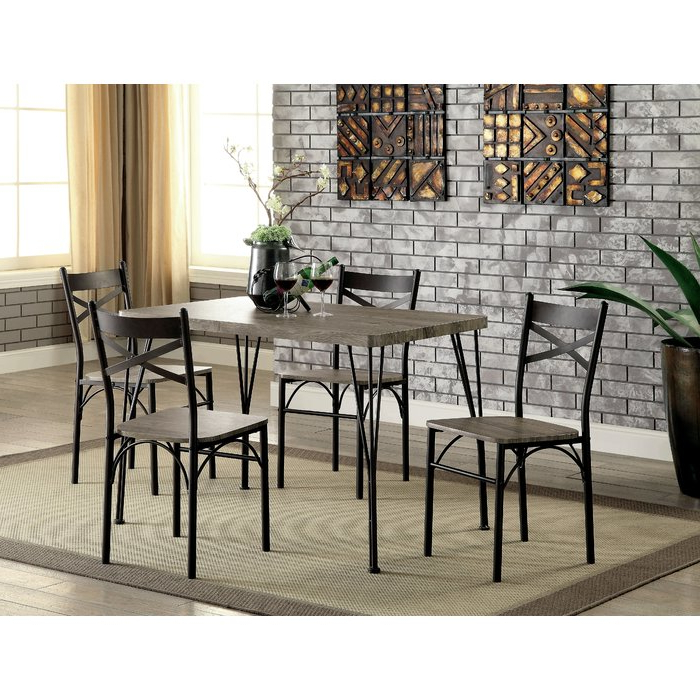 Wayfair.ca Within Taulbee 5 Piece Dining Sets (Gallery 10 of 20)