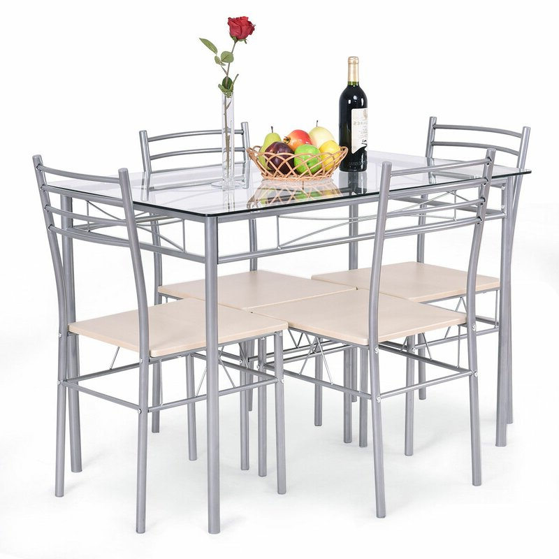 Wayfair For Stouferberg 5 Piece Dining Sets (Gallery 2 of 20)