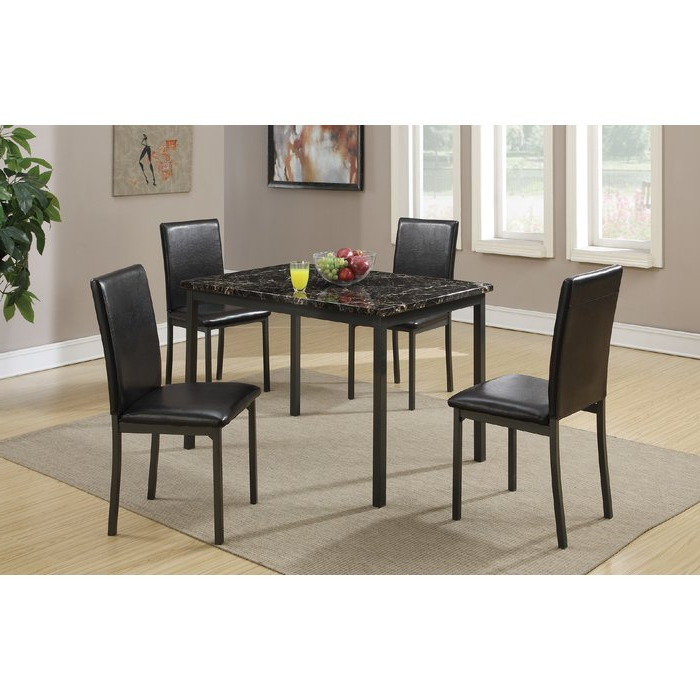 Wayfair Inside Autberry 5 Piece Dining Sets (View 5 of 20)