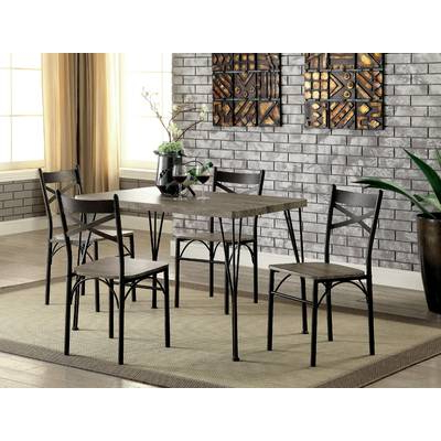 Wayfair Intended For Latest Queener 5 Piece Dining Sets (View 18 of 20)