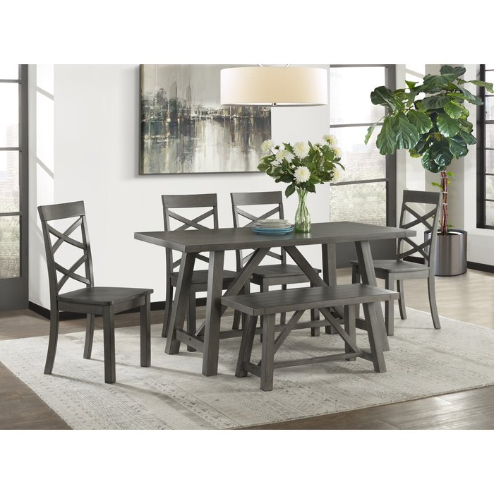 Featured Photo of Osterman 6 Piece Extendable Dining Sets (Set Of 6)