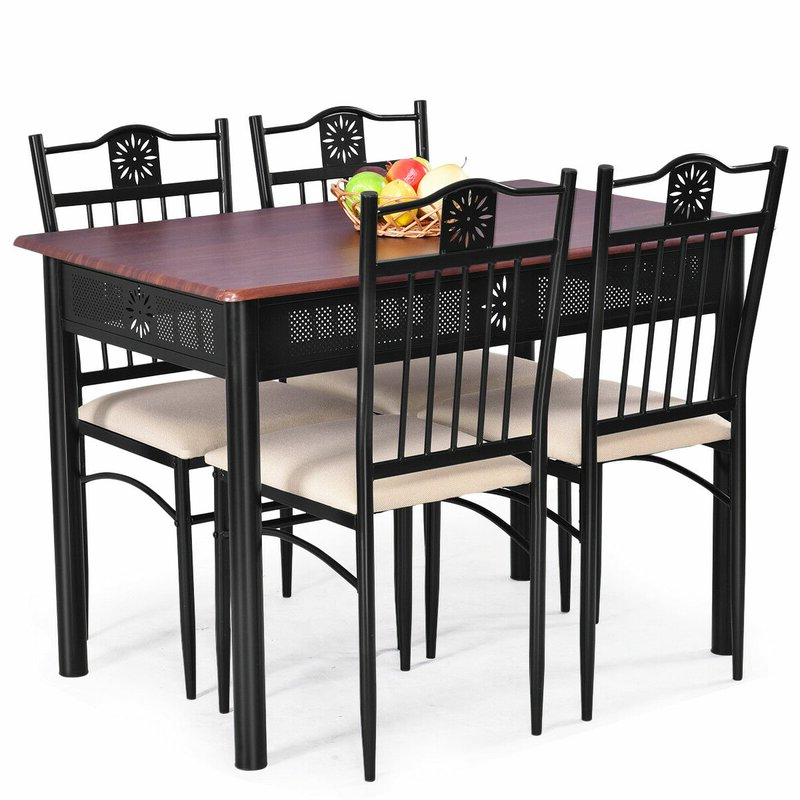 Wayfair Intended For Popular Conover 5 Piece Dining Sets (View 18 of 20)