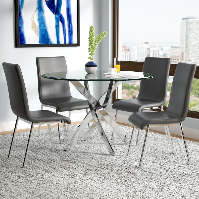 Wayfair Intended For Well Liked 5 Piece Dining Sets (View 20 of 20)