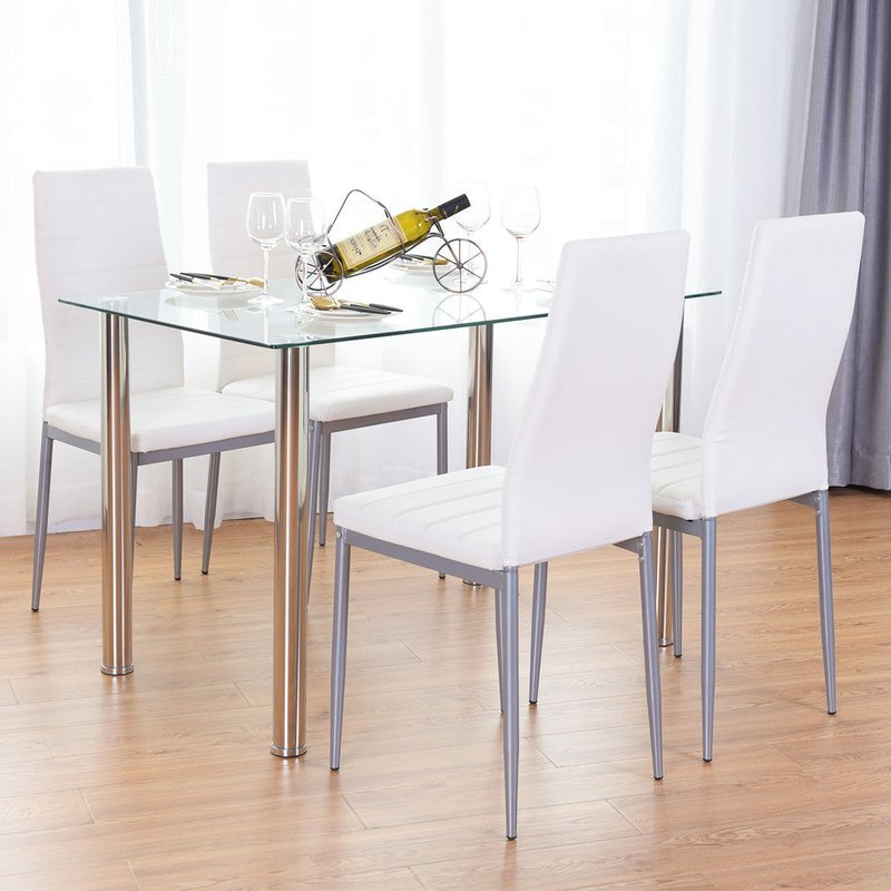 Wayfair Pertaining To Well Known Travon 5 Piece Dining Sets (View 2 of 20)
