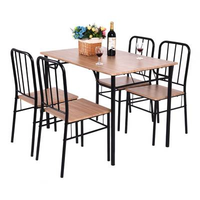 Featured Photo of Conover 5 Piece Dining Sets