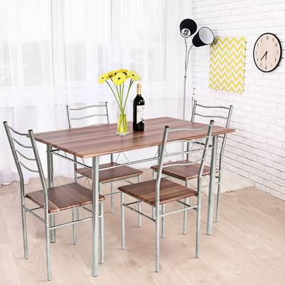 Wayfair Regarding Most Popular Casiano 5 Piece Dining Sets (View 18 of 20)