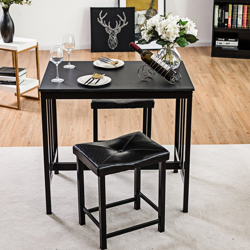 Wayfair Regarding Most Recently Released Miskell 3 Piece Dining Sets (View 17 of 20)