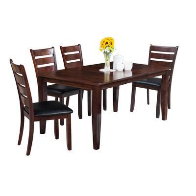 Wayfair Regarding Trendy Adan 5 Piece Solid Wood Dining Sets (Set Of 5) (View 18 of 20)