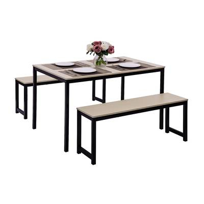 Wayfair Throughout Partin 3 Piece Dining Sets (Gallery 7 of 20)