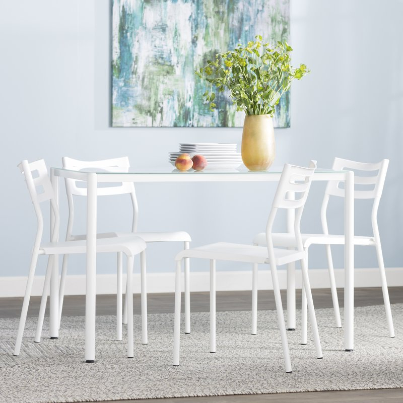 Wayfair Throughout Popular Liles 5 Piece Breakfast Nook Dining Sets (View 10 of 20)
