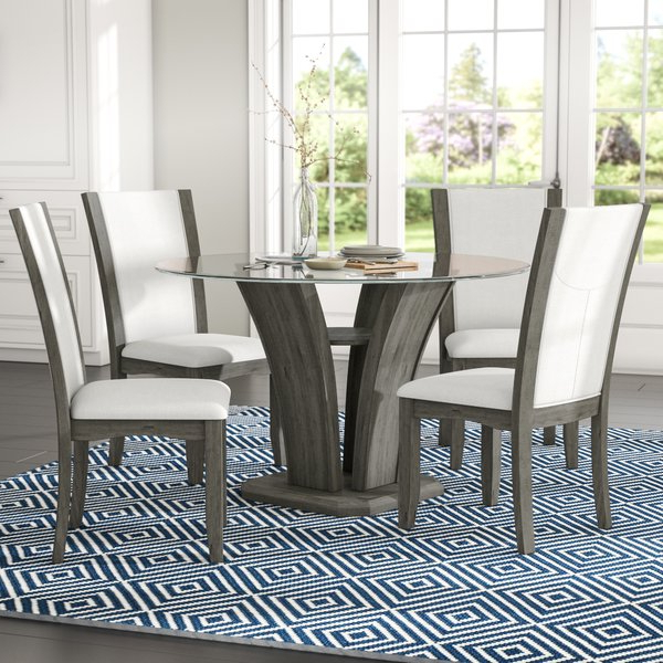 Wayfair With Giles 3 Piece Dining Sets (View 16 of 20)