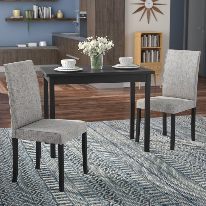 Wayfair Within Best And Newest Baillie 3 Piece Dining Sets (View 19 of 20)