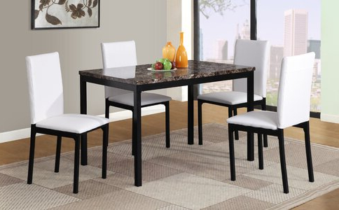 Wayfair Within Noyes 5 Piece Dining Sets (View 19 of 20)
