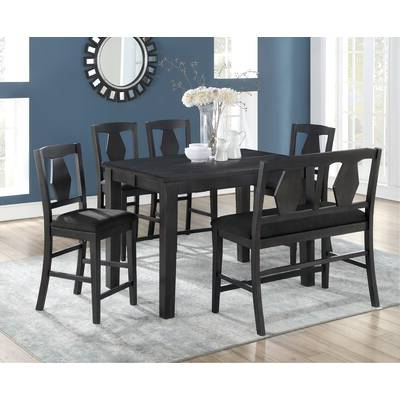 Wayfair Within Osterman 6 Piece Extendable Dining Sets (Set Of 6) (View 17 of 20)