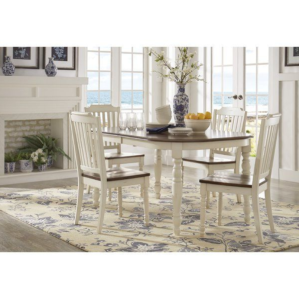 Well Known Lamotte 5 Piece Dining Sets In Whiteland 5 Piece Dining Set In (View 5 of 20)