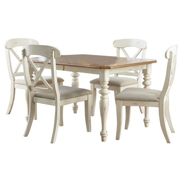 Well Known Osterman 6 Piece Extendable Dining Sets (Set Of 6) With Regard To Farmhouse & Rustic Red Barrel Studio Dining Sets (View 19 of 20)