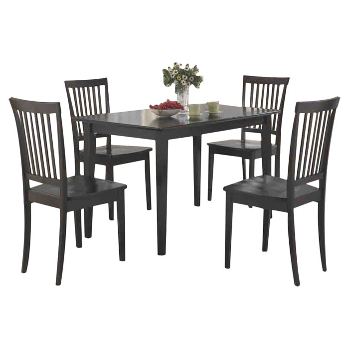 Well Known Pattonsburg 5 Piece Dining Sets Within Gracie Oaks Pattonsburg 5 Piece Dining Set & Reviews (Gallery 2 of 20)
