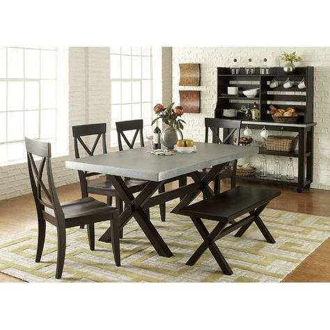 Well Known Pratiksha Sonoma 5 Piece Dining Sets Within Carriage Hill 7 Piece Extendable Dining Set (View 18 of 20)