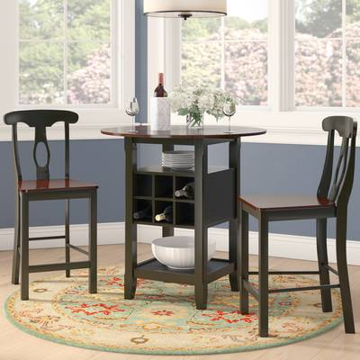 Well Known Thurman 5 Piece Pub Table Set & Reviews (View 19 of 20)