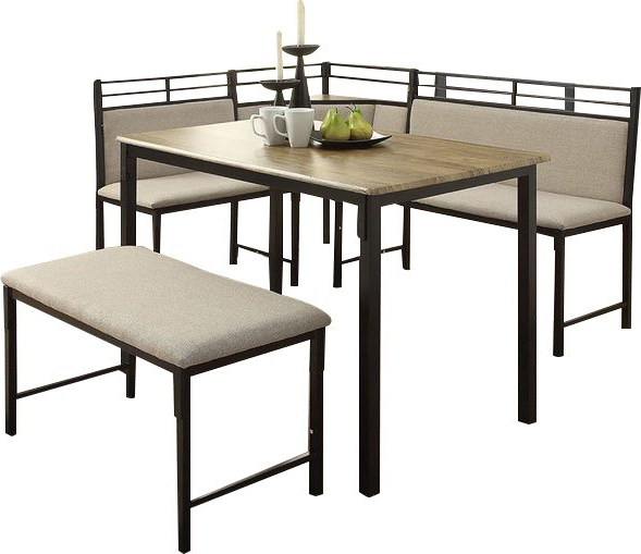 Well Liked Modern & Contemporary Kitchen Corner Table Sets (View 11 of 20)