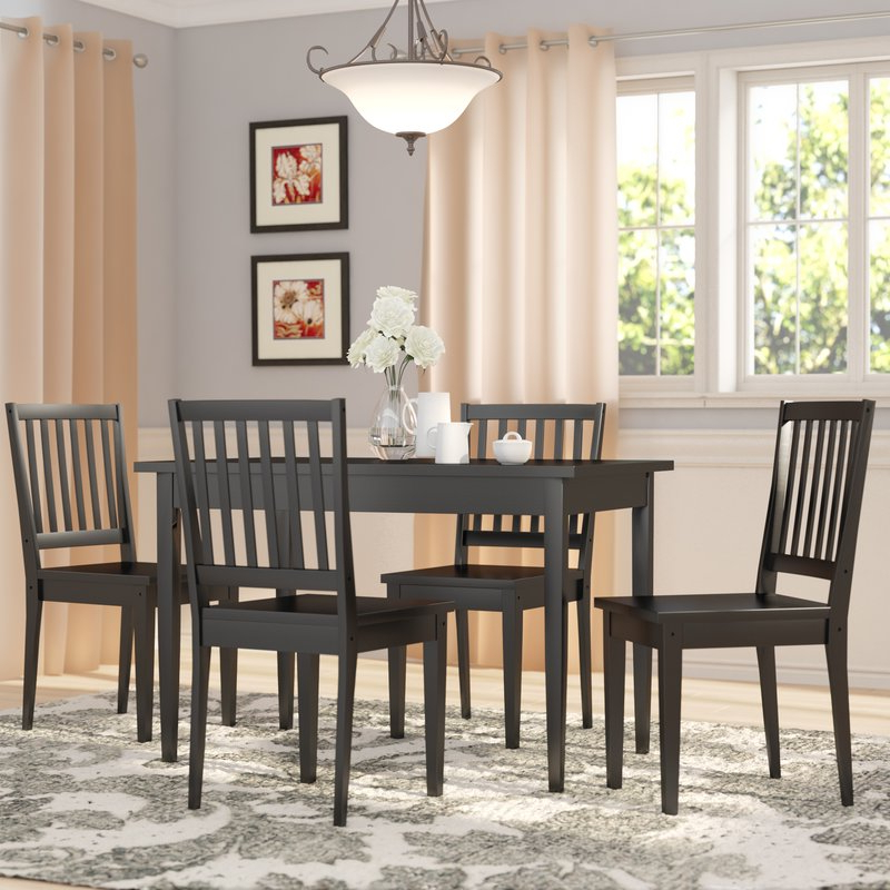 Well Liked Three Posts Barryknoll 5 Piece Dining Set & Reviews (View 20 of 20)