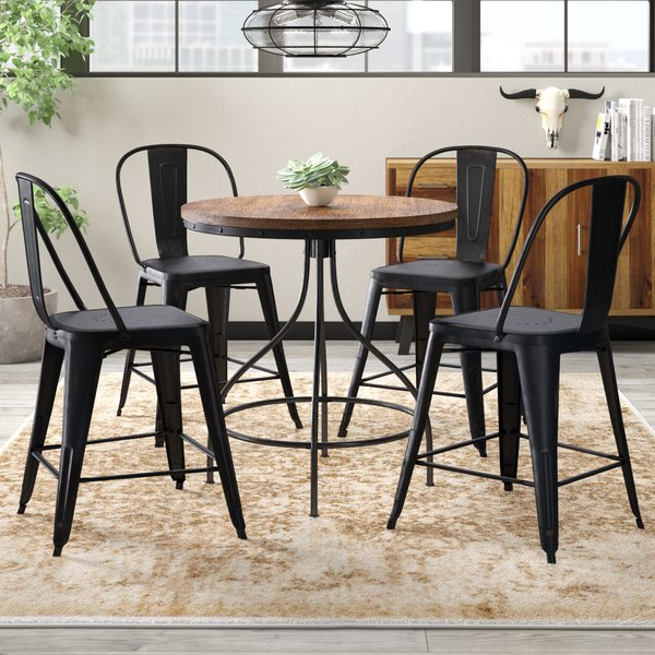 West Hill Family Table 3 Piece Dining Sets Within Well Known 2 Cher 5 Piece Dining Setrosalind Wheeler 2019 Online (View 9 of 20)