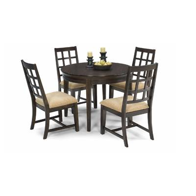 Wholesale Interiors Baxton Studio Keitaro 5 Piece Dining Set Regarding Well Known Baxton Studio Keitaro 5 Piece Dining Sets (View 20 of 20)