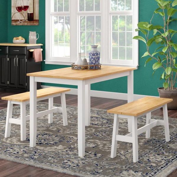 Featured Photo of Kaya 3 Piece Dining Sets