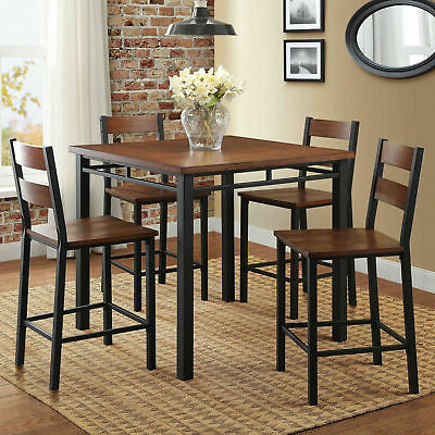 Winston Porter Keeter 3 Piece Counter Height Breakfast Nook Dining Regarding Favorite Denzel 5 Piece Counter Height Breakfast Nook Dining Sets (View 19 of 20)