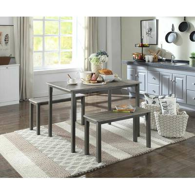 Wrought Studio Chelmsford 3 Piece Dining Set & Reviews (Gallery 2 of 20)