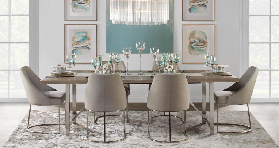 Z Gallerie With North Reading 5 Piece Dining Table Sets (View 19 of 20)