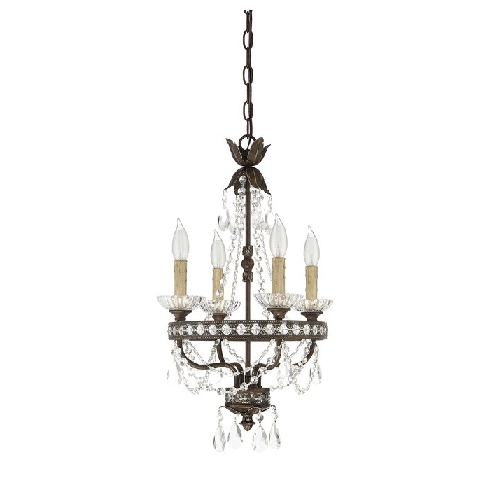 2017 Bouchette Traditional 6 Light Candle Style Chandeliers Pertaining To Lefler 4 Light Candle Style Chandelier (View 1 of 25)