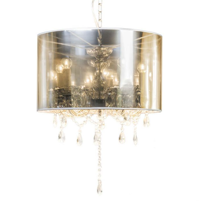 2017 Chandelier Marie Theresa 5 With Magic Shade Regarding Thresa 5 Light Shaded Chandeliers (View 5 of 25)