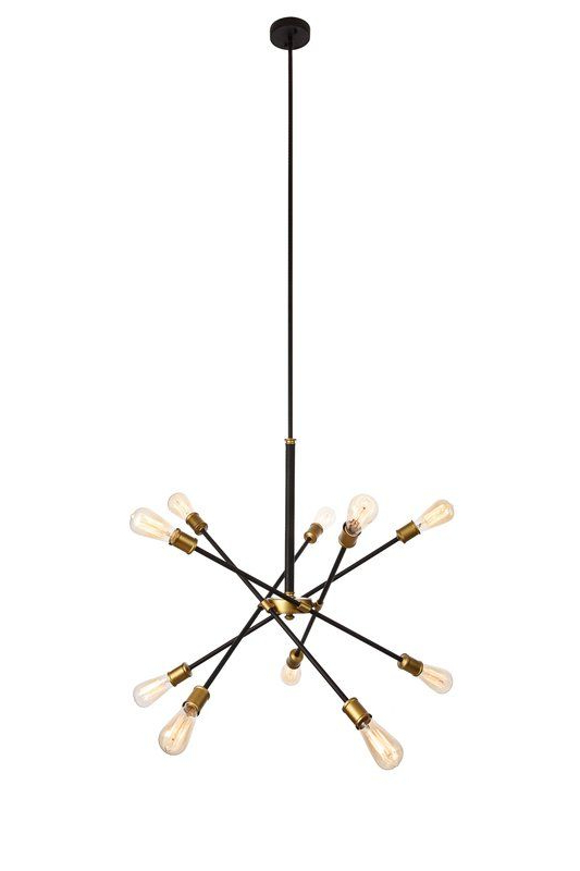 2017 Everett 10 Light Sputnik Chandeliers With Pin On Light It Up! (View 5 of 25)