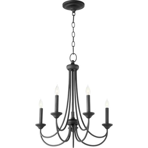 2017 Kendal 5 Light Candle Style Chandelier For Kenna 5 Light Empire Chandeliers (Gallery 19 of 25)