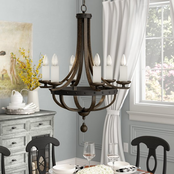 2017 Phifer 6 Light Empire Chandeliers Regarding Betty Jo 6 Light Empire Chandelier (View 9 of 25)